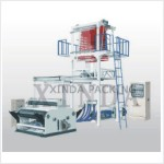 High and low pressure polyethylene with double film blowing machine