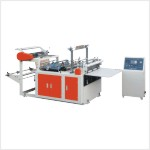 Heat sealing cold cutting bag making machine FQ