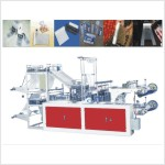 XD-DFL microcomputer control high speed double rolling bag machine