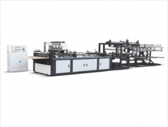 Non-woven zipper bag making machine (WFB-ZP800)