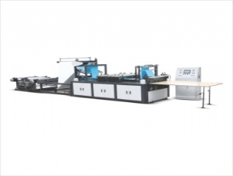 Automatic non-woven box sealing and cutting machine (WFB-S800)